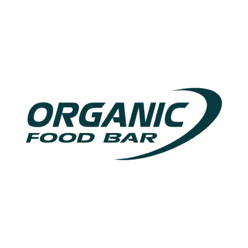 Markenlogo ORGANIC FOOD BAR in Grau