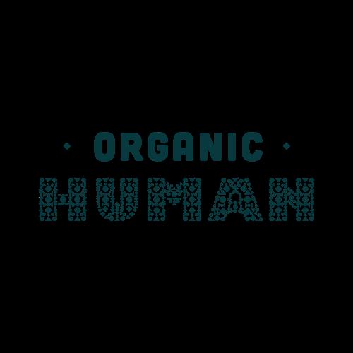 Markenlogo ORGANIC HUMAN in Grau