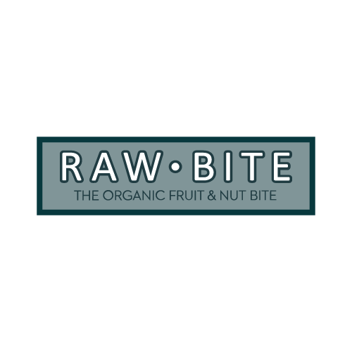 Markenlogo RAWBITE in Grau